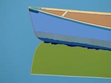 Colorful Canoe