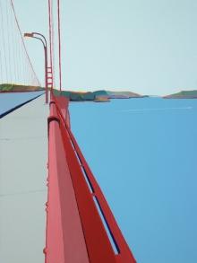 View from Golden Gate Bridge