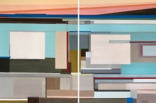 Yesterday There Was a Sunset, Today There is a Sunrise (diptych)