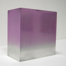 Reflection cube violet