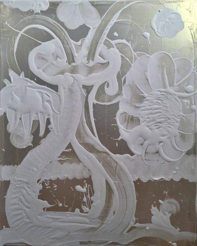 Mica Painting (Petal)