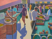 French Market, Purple Cress