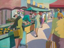 Market in France, Arcachon