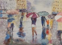 Walking Solo in the Rain