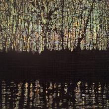 Woodland Reflection - left